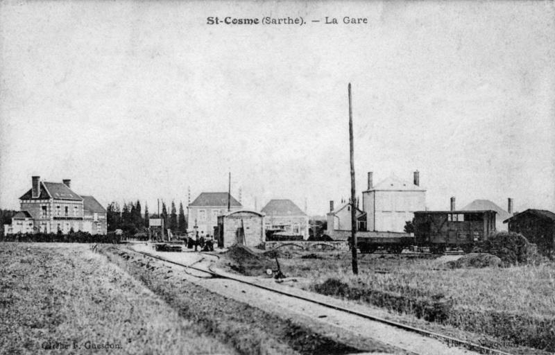 Tramways de la Sarthe - Page 2 Saint-13