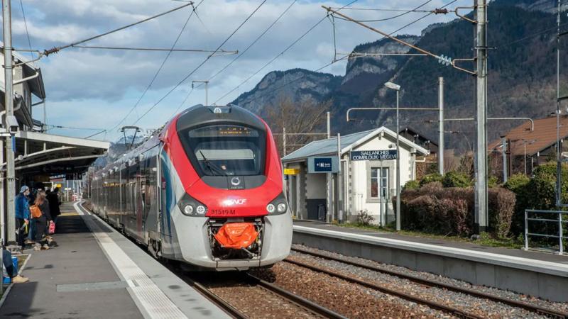 Léman Express (Haute-Savoie/Ain/Suisse) Sallan10