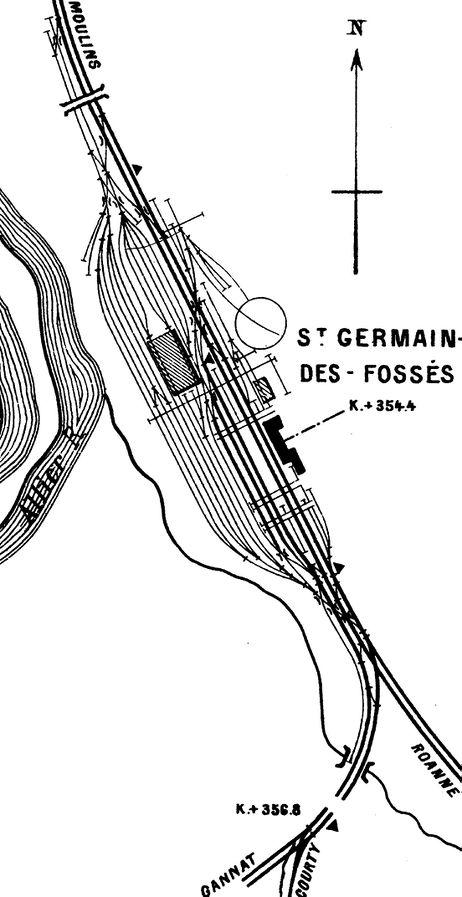 Gare de Saint-Germain-des-Fossés (PK 354,4)  Sgefo11