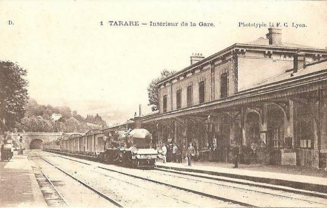 Gare de Tarare (PK 462,7) T112