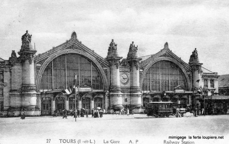 Gare de Tours (PK 235,6) T213