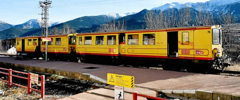 Ligne de Cerdagne (train jaune) Train_10