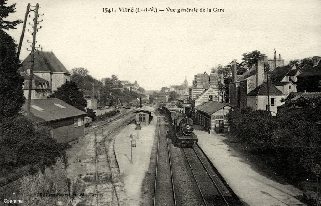 Gare de Vitré (PK 335,9) V110