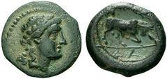 Bronze au taureau cornupéte -150-120 Avant J C. 62485410