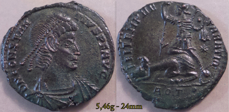 Les Constances II, ses Césars et ces opposants par Rayban35 - Page 18 Charg251