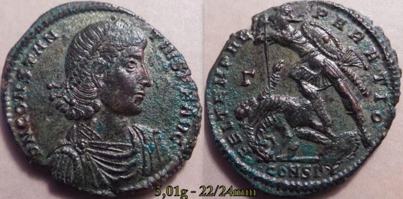 Les Constances II, ses Césars et ces opposants par Rayban35 - Page 4 Charge15