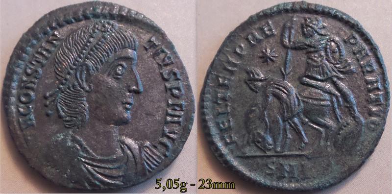 Les Constances II, ses Césars et ces opposants par Rayban35 - Page 9 Charge98