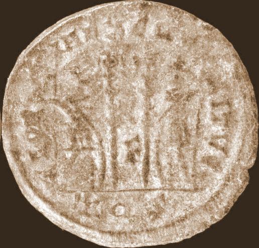 Constantin II RIC 132 (R4) – Paolucci & Zub 349 (R) Point en exergue ? Const115