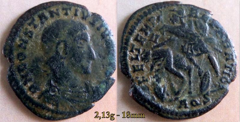 Les Constances II, ses Césars et ces opposants par Rayban35 Docume71