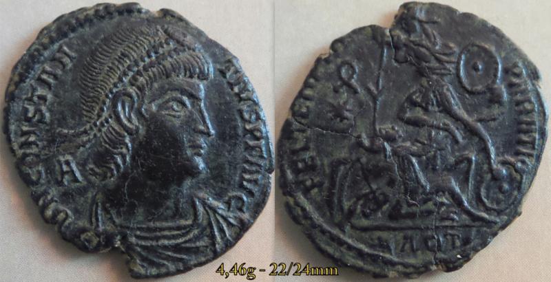 Les Constances II, ses Césars et ces opposants par Rayban35 - Page 19 Monnai14