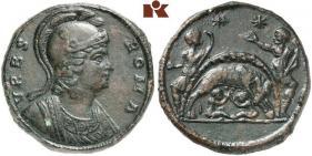 Médaillon de bronze URBS ROMA Ray44010