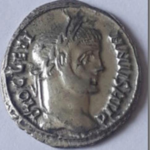 Argenteus diocletien  Sans_t70