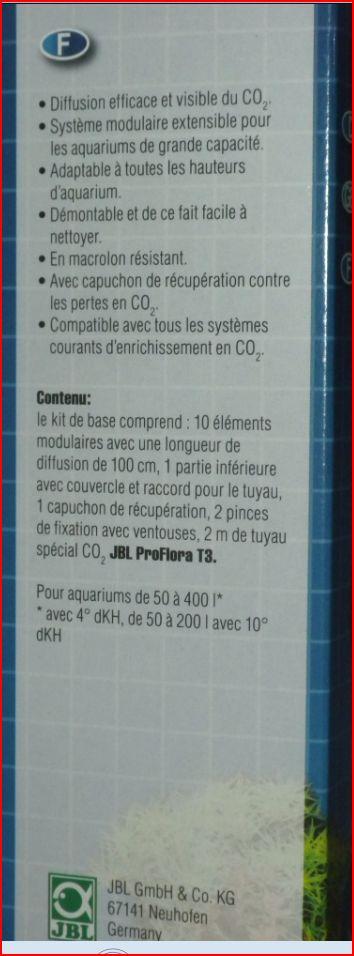 Reacteur Co2, JBL ProFlora taifun Diffus10