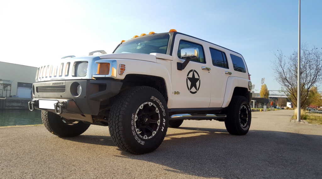 hummer h3 full options VENDU 20181111