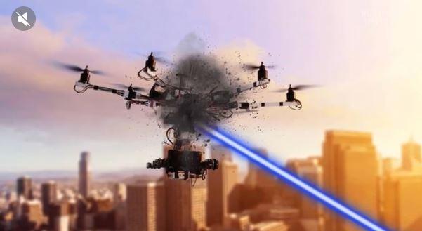 L'armée française teste un laser anti-drones avec des résultats 'prometteurs'  00_dro10