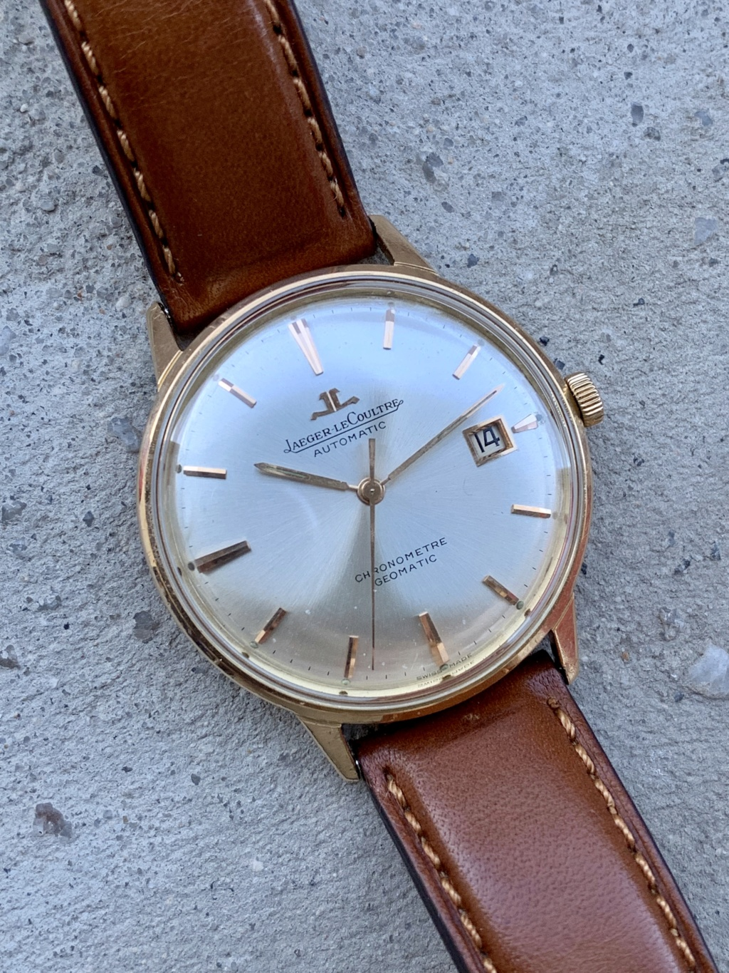 Jaeger - [Vends] Jaeger Lecoultre Geomatic 18K Img_0710