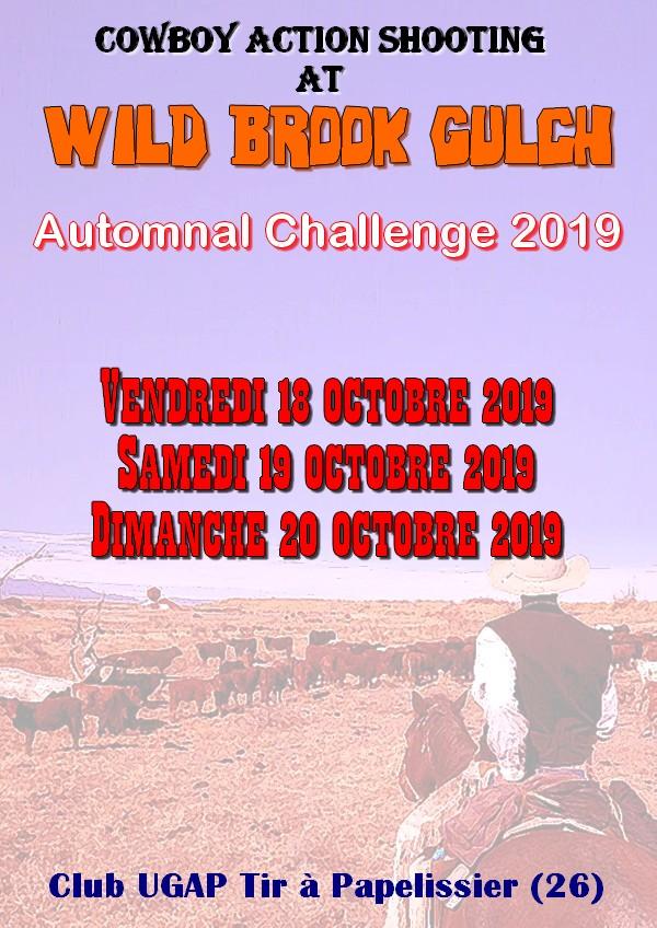 2nd Automnal Challenge à WBG Affich12