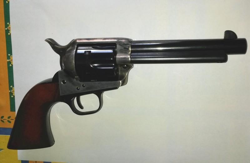 """Vends 2 Uberti 1873 cal. 45 LC 5""""1/2 Bronzz10"""
