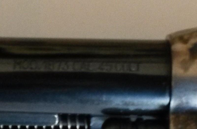 """Vends 2 Uberti 1873 cal. 45 LC 5""""1/2 Bronzz13"""