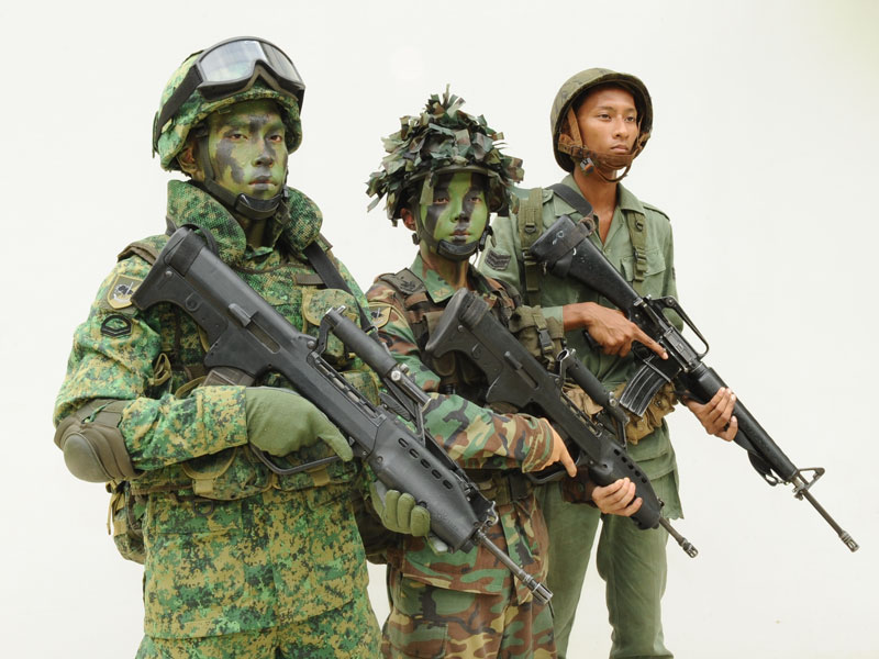 Singapore Digitals and some history of Singapore Combat Dress 14798210