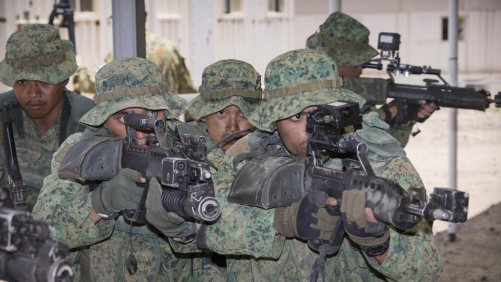 Singapore Digitals and some history of Singapore Combat Dress 2a2e4b10