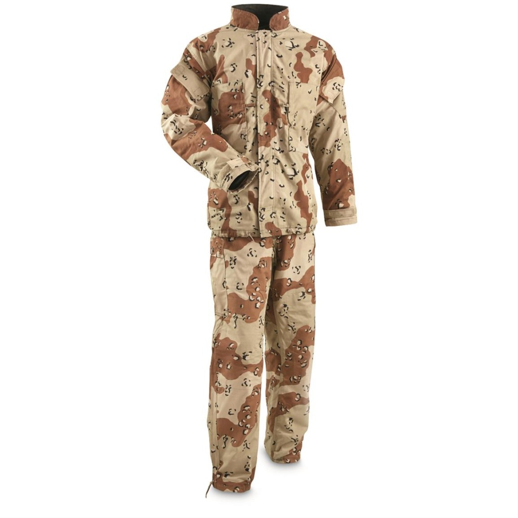 """British made 6 Color Desert Chocolate Chip """"Mk. IV DPM Chemical Protective Smock"""" 67884710"""
