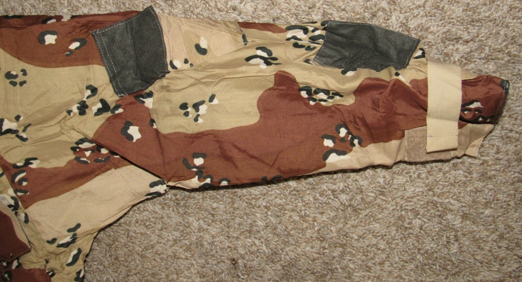 "British made 6 Color Desert Chocolate Chip ""Mk. IV DPM Chemical Protective Smock"" Britis11"