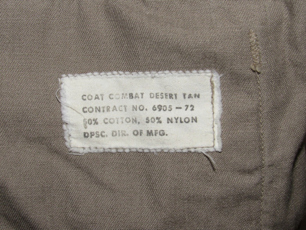 """Desert uniforms (DCU) - DESERT 6 colors """"Chocolate chip""""  dated 1984 - Page 2 Img_4727"""