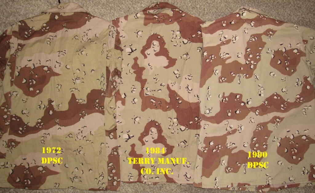 """Desert uniforms (DCU) - DESERT 6 colors """"Chocolate chip""""  dated 1984 - Page 2 Img_4728"""
