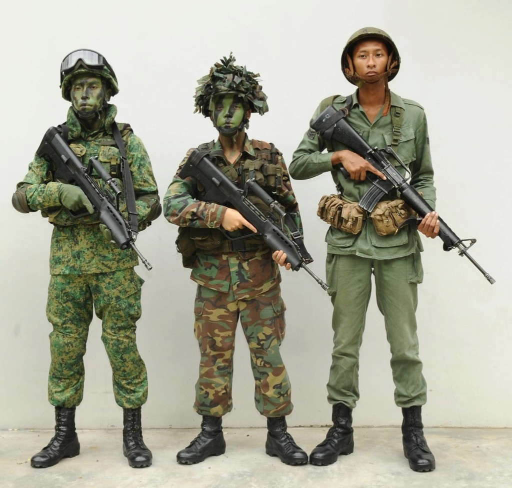 Singapore Digitals and some history of Singapore Combat Dress Saf-un10