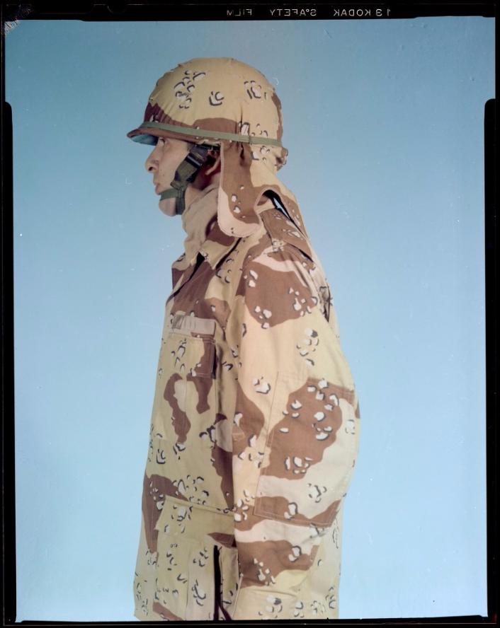 "Desert uniforms (DCU) - DESERT 6 colors ""Chocolate chip""  dated 1984 - Page 2 Unifor12"