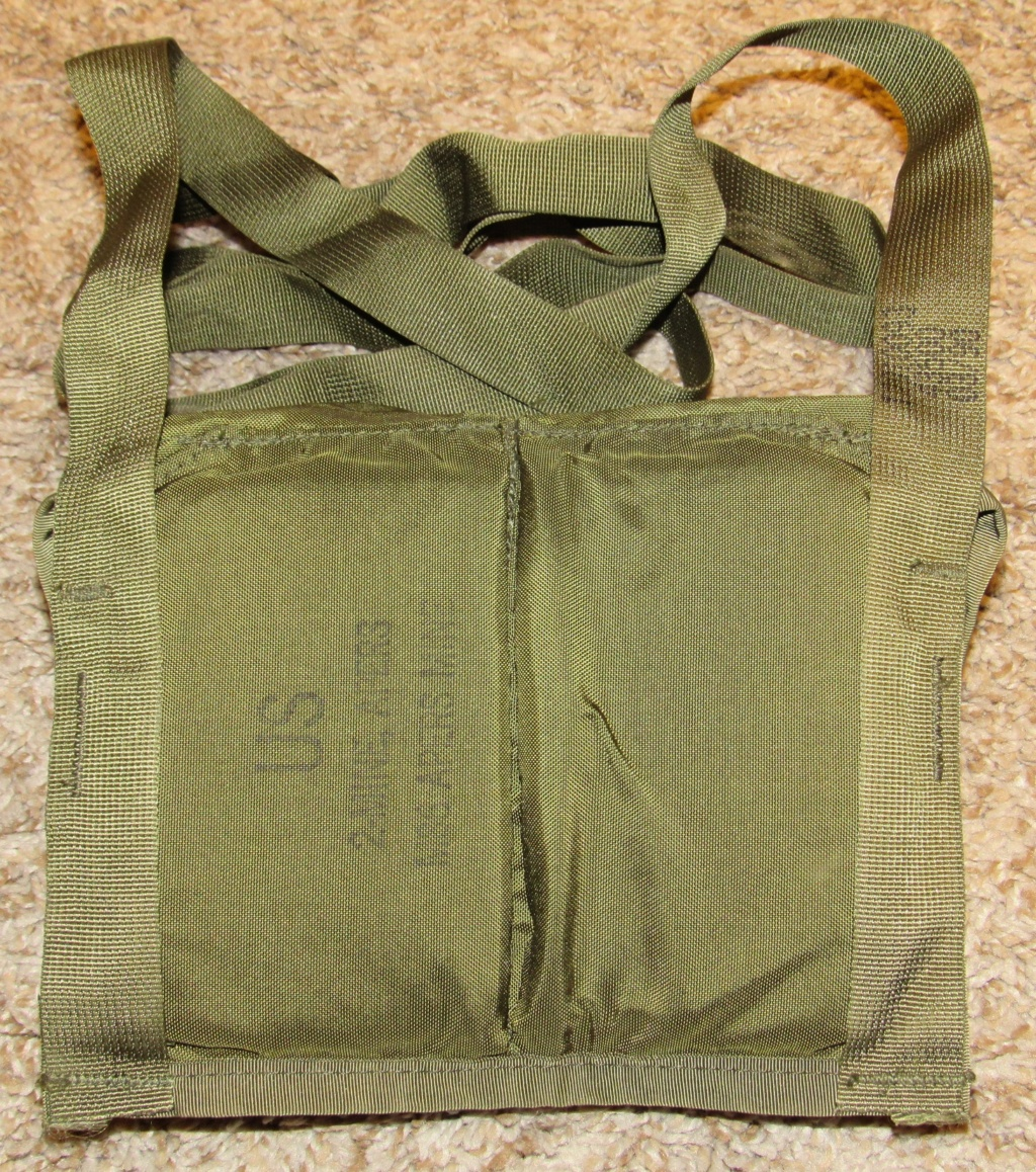 2-Cell Nylon Bag/Pouch/Bandoleer for the M86 Pursuit Deterrent Munition Anti-Personnel Bounding Mine (Mine, M86, APERS, PDM) Us_mil10
