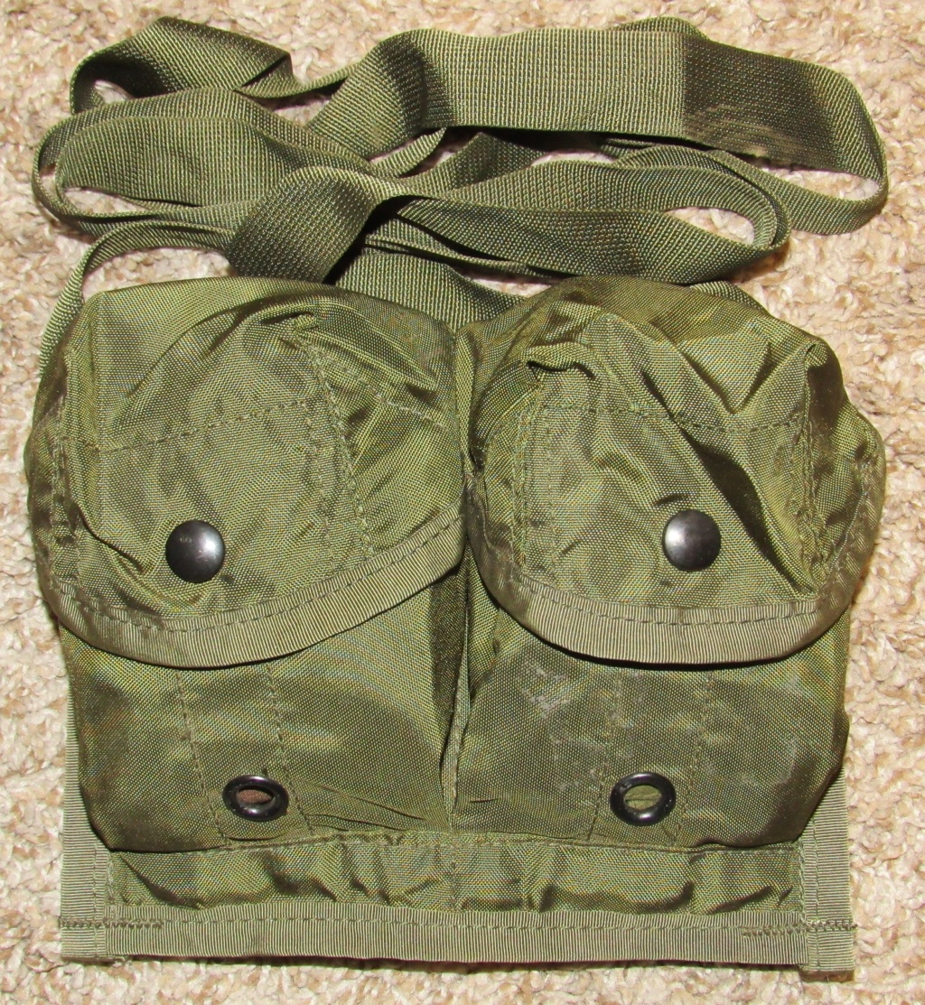 2-Cell Nylon Bag/Pouch/Bandoleer for the M86 Pursuit Deterrent Munition Anti-Personnel Bounding Mine (Mine, M86, APERS, PDM) Us_mil11