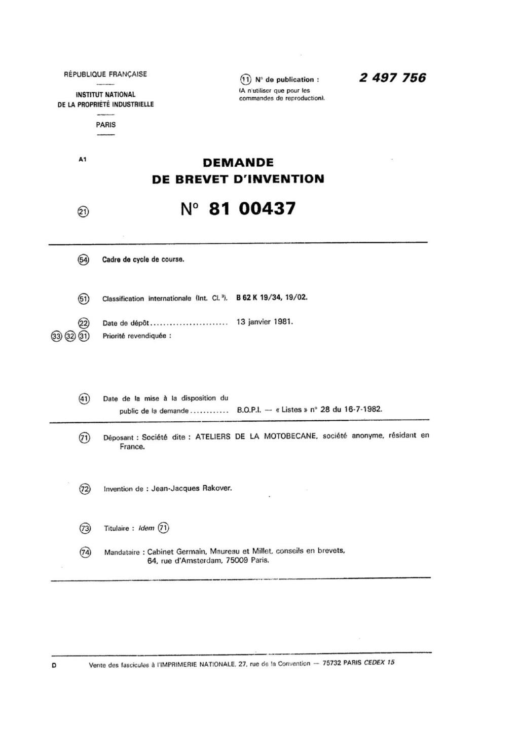 Motobecane Profil: 1/2/3 - Page 2 112