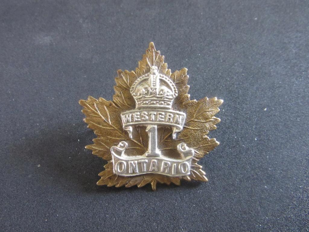 Cap badges  1st_we10