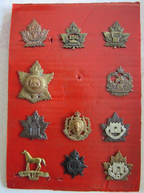 canadian cap badges and so on... Overse11