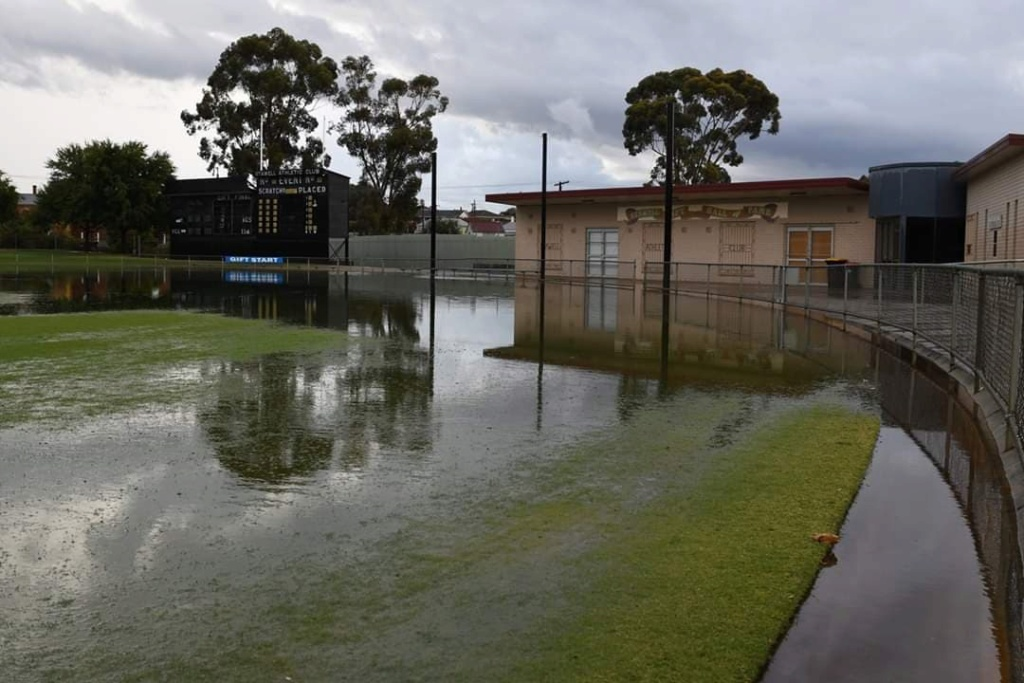 Central Park Stawell under water 91518010