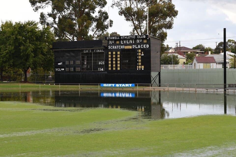 Central Park Stawell under water 91797110