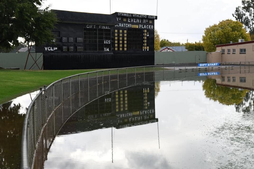 Central Park Stawell under water 92009510