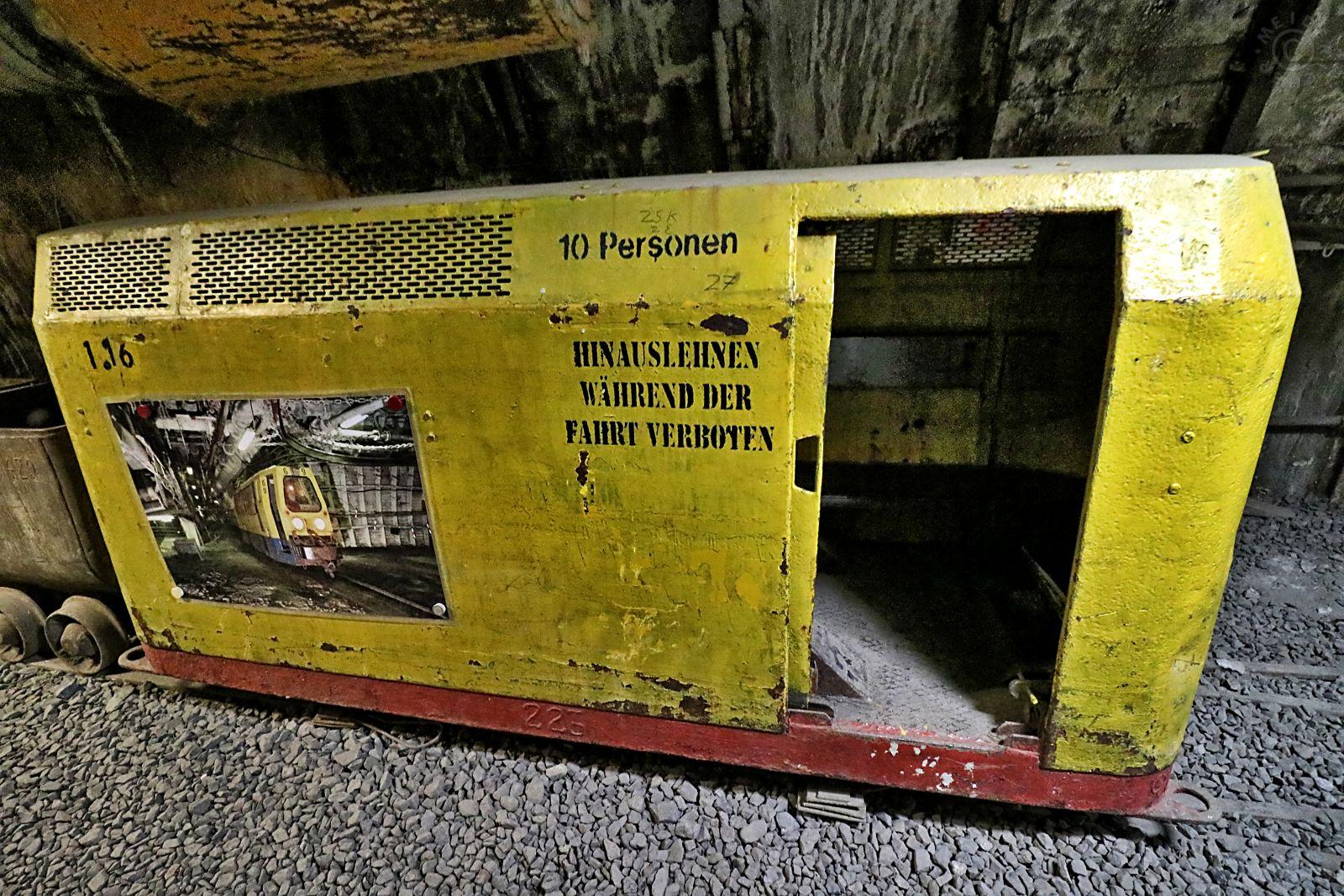 Besuch des Trainingsbergwerk Recklinghausen 1211