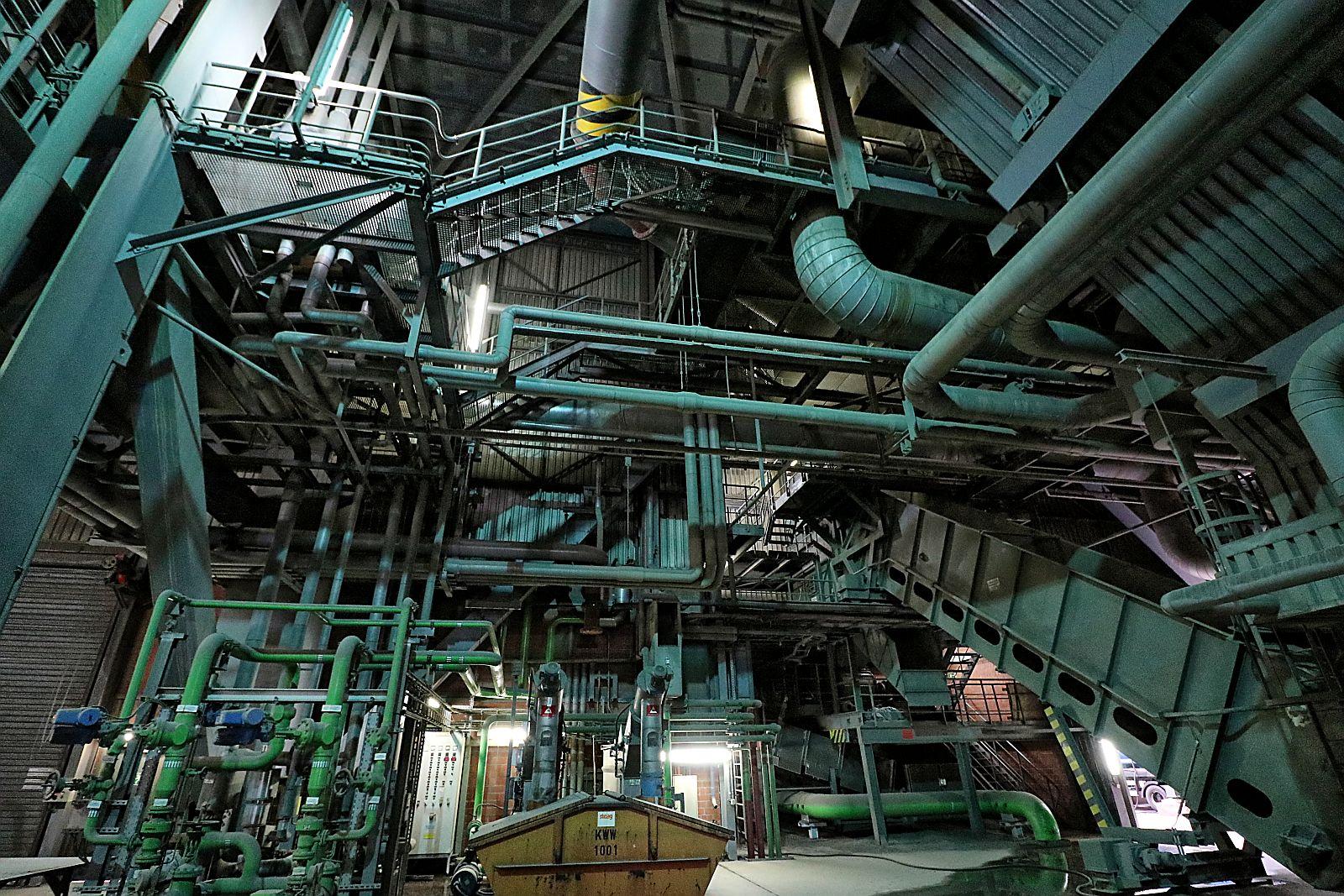 Besuch STEAG-Kraftwerk Walsum  1214