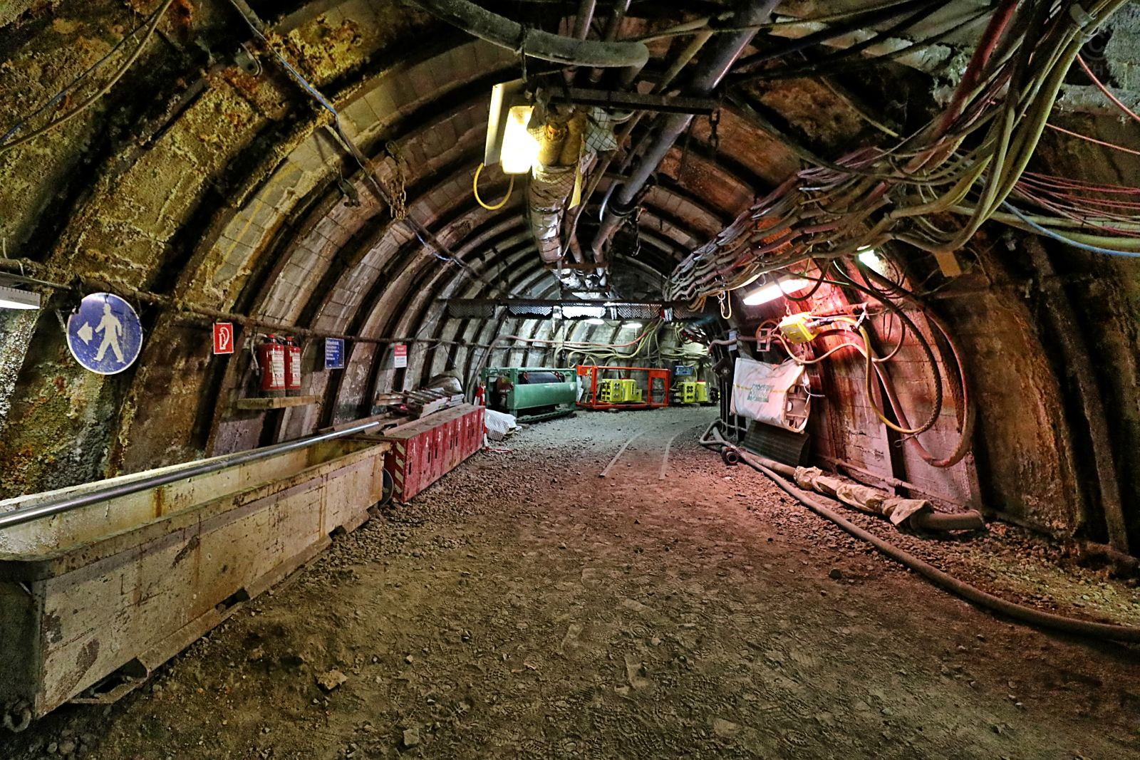 Besuch des Trainingsbergwerk Recklinghausen 2311