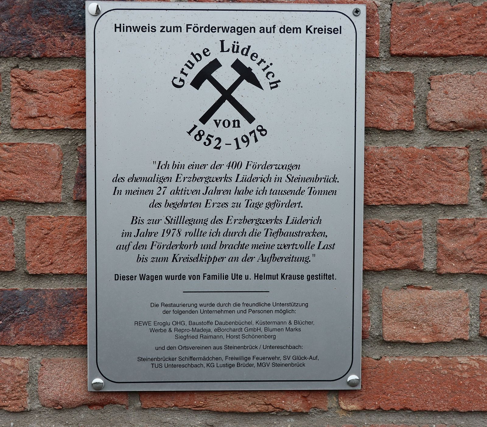 Grube Lüderich 2711