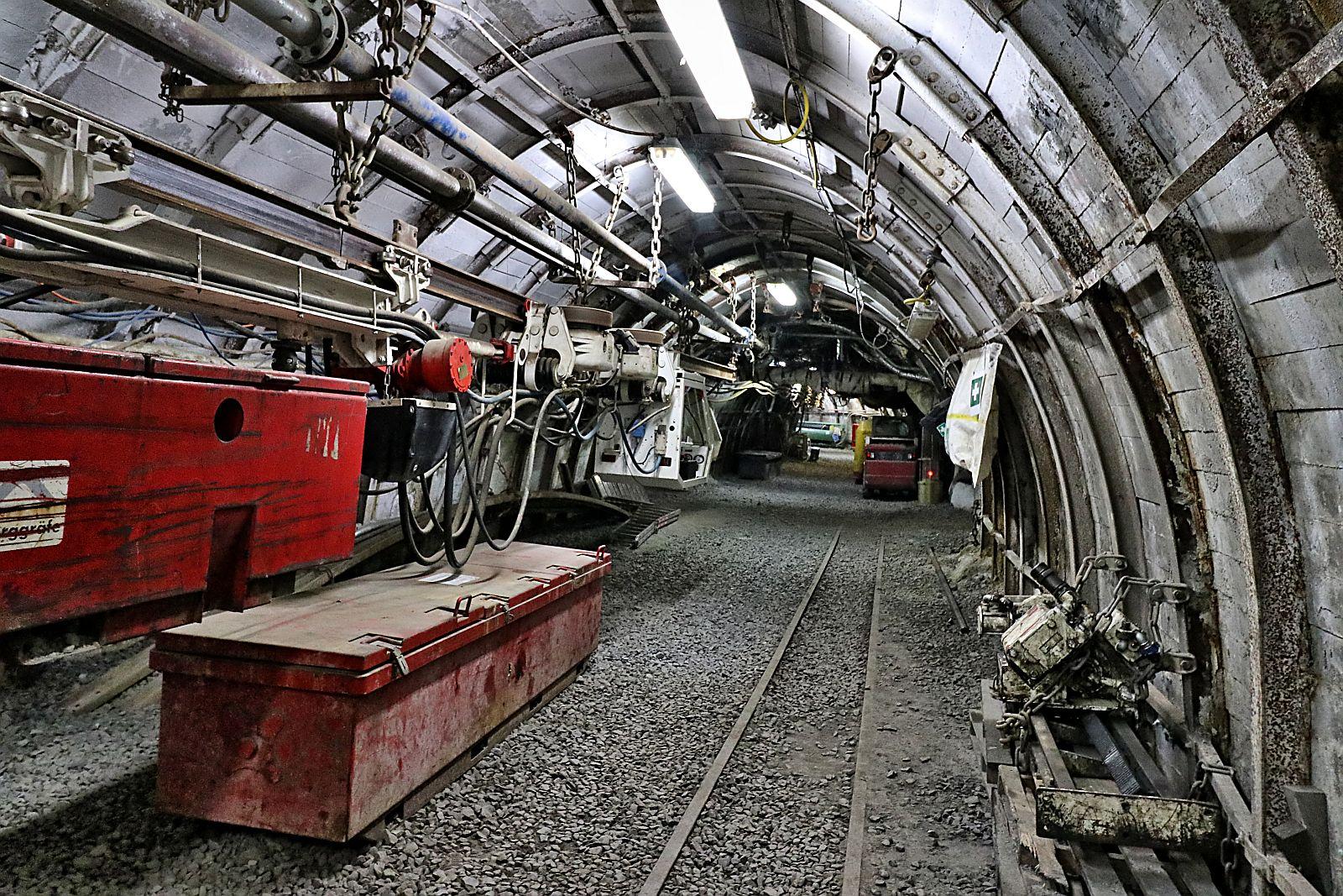 Besuch des Trainingsbergwerk Recklinghausen 916