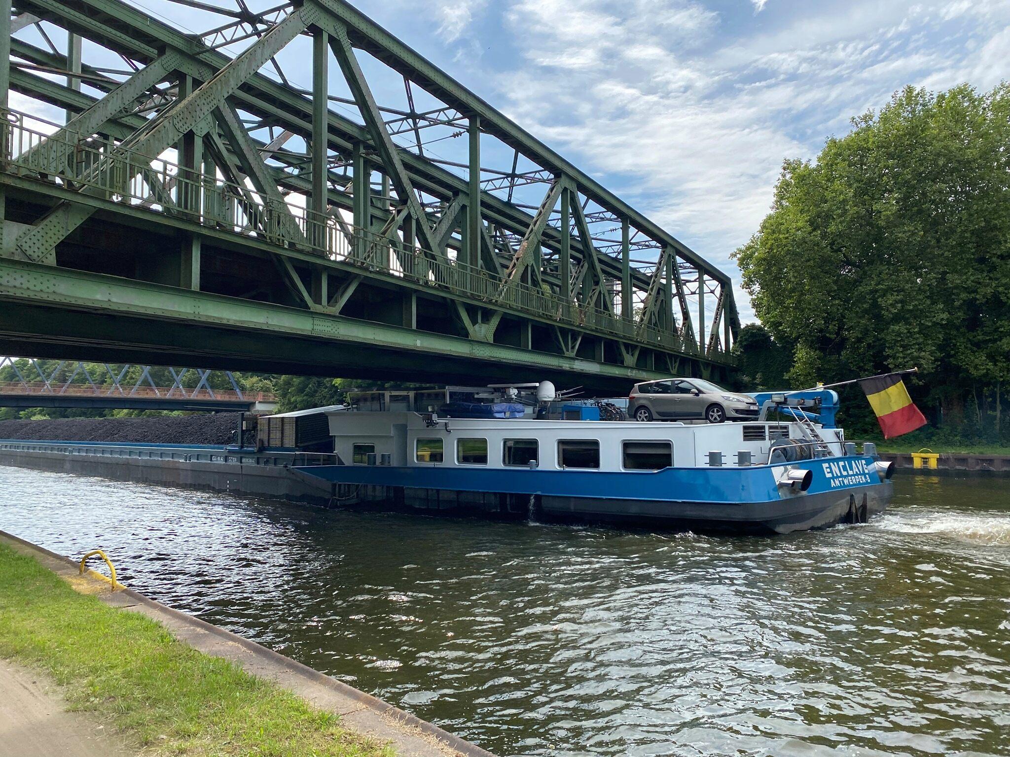 Am Kanal in Meiderich Kanal10