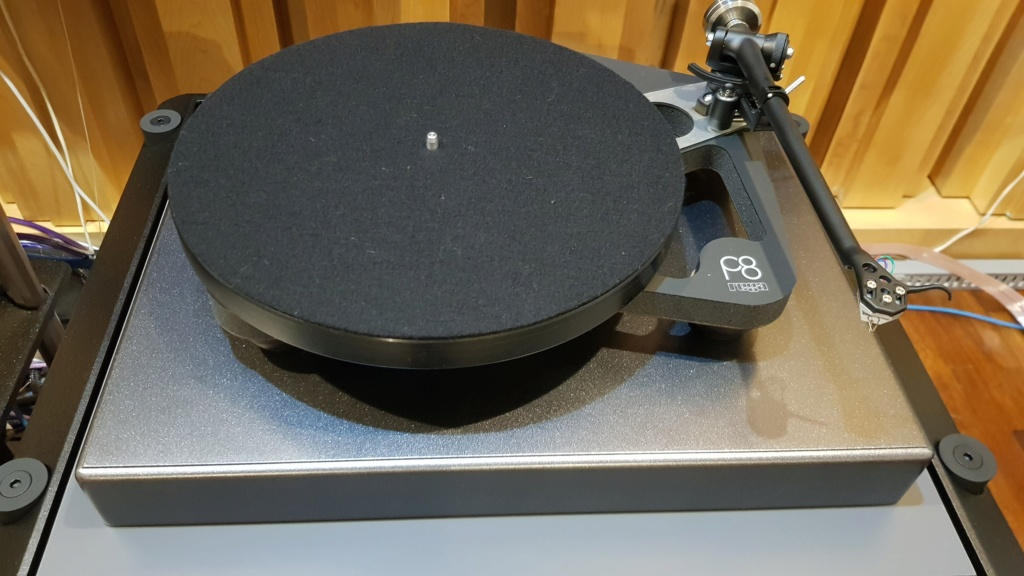 Rega Planar P8 Turntable and Rega Aria Phono Amp (Used) Price reduced 20210211