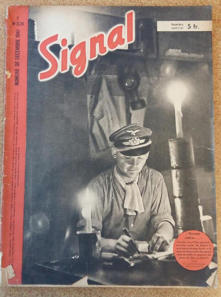 Estimation - revues Signal français - 1941 à 1943 20180911