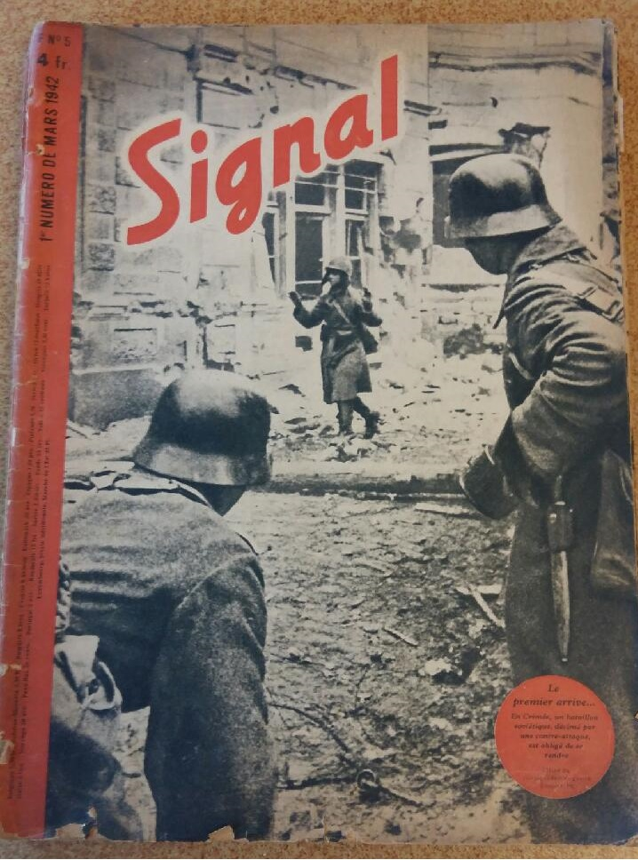 Estimation - revues Signal français - 1941 à 1943 20180912
