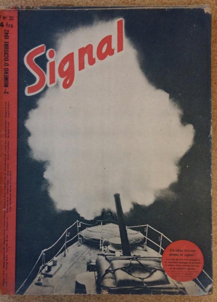 Estimation - revues Signal français - 1941 à 1943 20180913