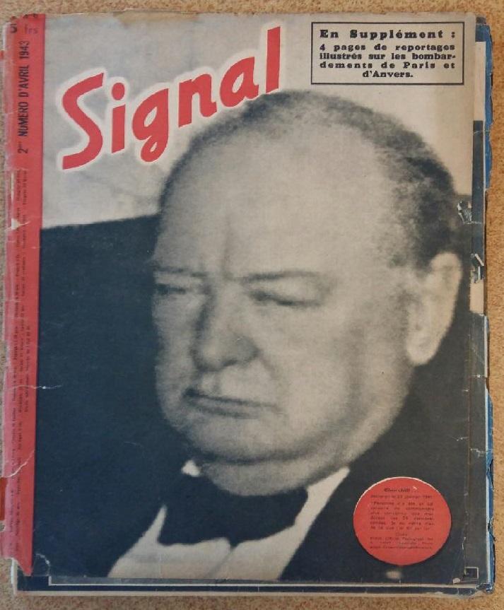 Estimation - revues Signal français - 1941 à 1943 20180914